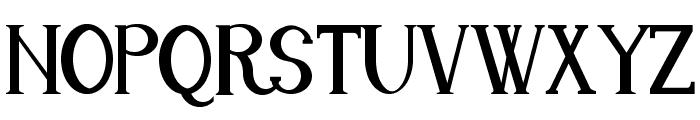 Endora Font UPPERCASE