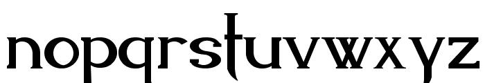 Endora Font LOWERCASE