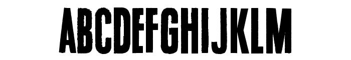 Endrophenomeua Font LOWERCASE