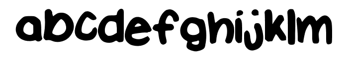 Enduratize Font LOWERCASE