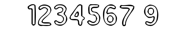 Enemafont Font OTHER CHARS