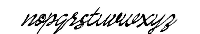 Enemell Brush Font LOWERCASE