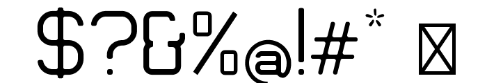Engadi Gentle Font OTHER CHARS