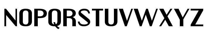 Engebrechtre Expanded Bold Font UPPERCASE