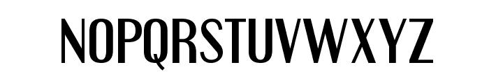 Engebrechtre-Regular Font LOWERCASE