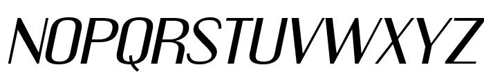 EngebrechtreEx-Italic Font UPPERCASE