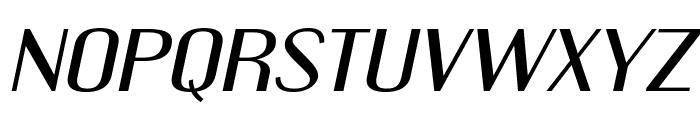 EngebrechtreEx-Italic Font LOWERCASE
