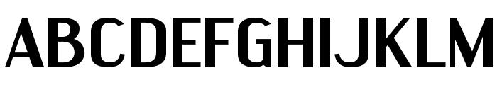 EngebrechtreExp-Bold Font UPPERCASE