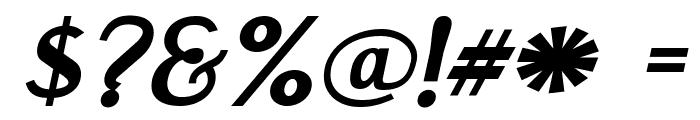 EngebrechtreExp-BoldItalic Font OTHER CHARS