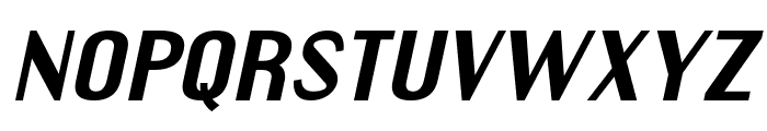 EngebrechtreExp-BoldItalic Font LOWERCASE