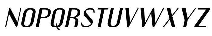 EngebrechtreExp-Italic Font LOWERCASE