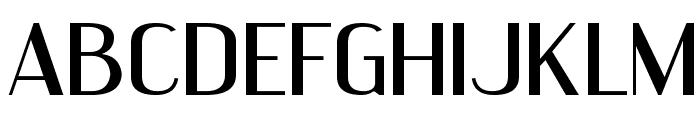 EngebrechtreExp-Regular Font UPPERCASE