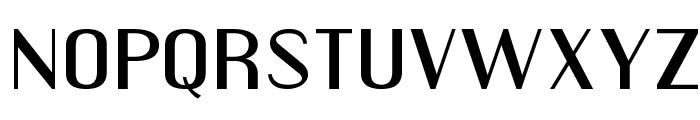 EngebrechtreExp-Regular Font LOWERCASE