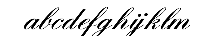 England Hand DB Font LOWERCASE