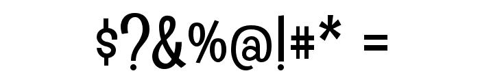 Englebert Font OTHER CHARS
