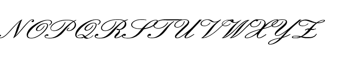 English Wd Font UPPERCASE
