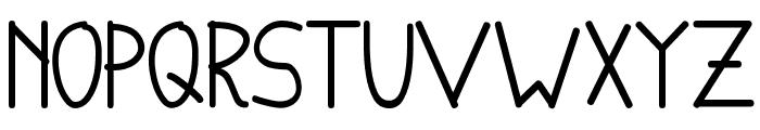 English-van-Java Font LOWERCASE