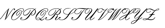 English Font UPPERCASE