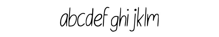 English_Class_ Font LOWERCASE