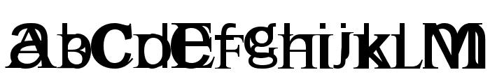 Englishgothic Font UPPERCASE