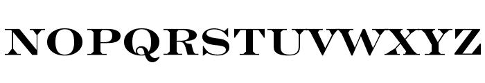 Engravers' Roman Bold BT Font UPPERCASE