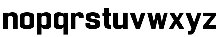 Enigmatic Bold Font LOWERCASE