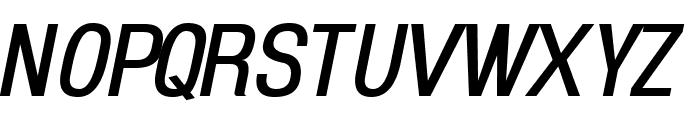 Enigmatic Italic Font UPPERCASE