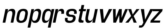Enigmatic Italic Font LOWERCASE