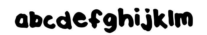 Enjoy Font LOWERCASE
