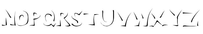 Enlighten Font UPPERCASE