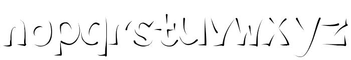 Enlighten Font LOWERCASE