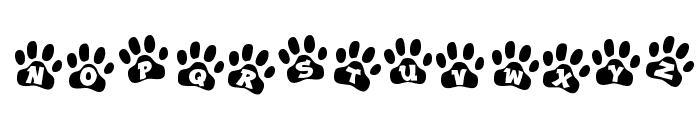 Ennobled Pet Font UPPERCASE