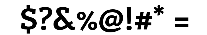 Enriqueta-Bold Font OTHER CHARS