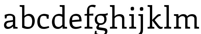 Enriqueta-Regular Font LOWERCASE