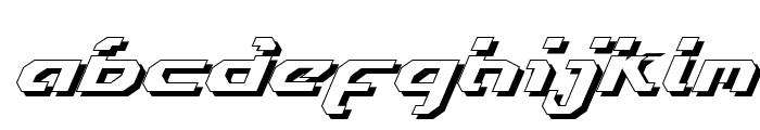 Ensign Flandry LasShad Italic Font LOWERCASE