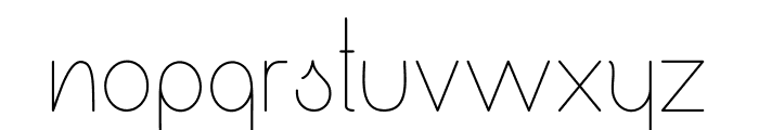 Ensure Medium Font LOWERCASE