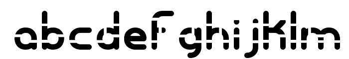 Entangled Layer A -BRK- Font LOWERCASE