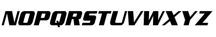 Enter Sansman Bold Italic Font UPPERCASE