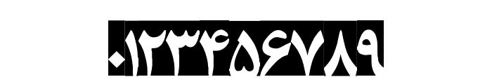 Entezaar III Font OTHER CHARS