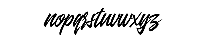 Entreaty Font LOWERCASE