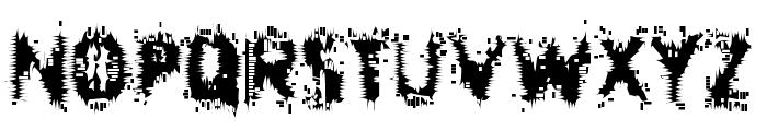 Entropy Font UPPERCASE