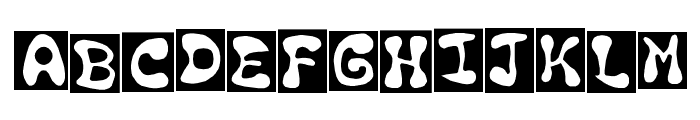 en drawn n cut Regular Font UPPERCASE
