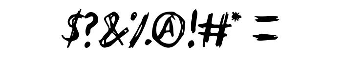 endoell Regular Font OTHER CHARS