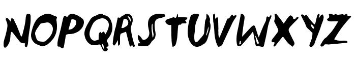 endoell Regular Font UPPERCASE