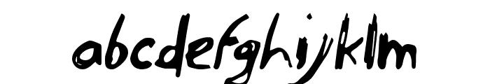 endoell Regular Font LOWERCASE