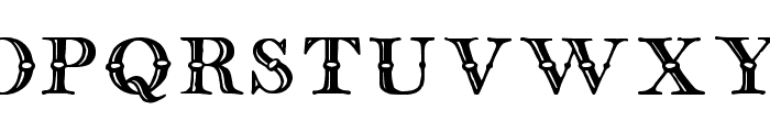 english two line tfb Font UPPERCASE