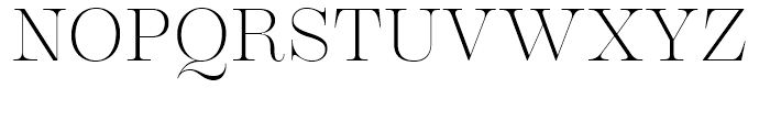 Encorpada Classic Extra Light Font UPPERCASE