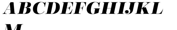 Encorpada Pro Extrabold Italic Font UPPERCASE