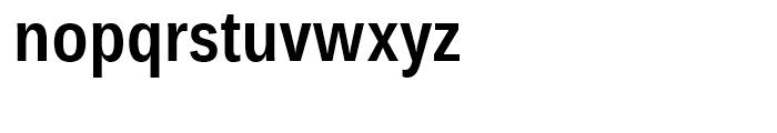 Endurance WGL Condensed SemiBold Font LOWERCASE