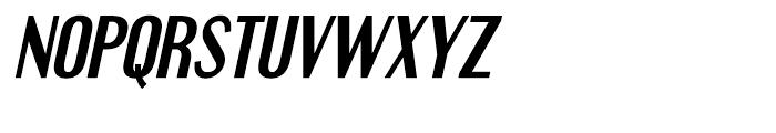 Engebrechtre Bold Italic Font UPPERCASE